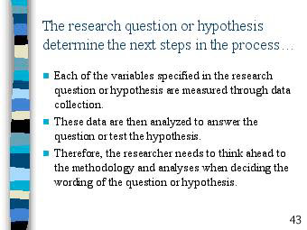 Research Essay Questions