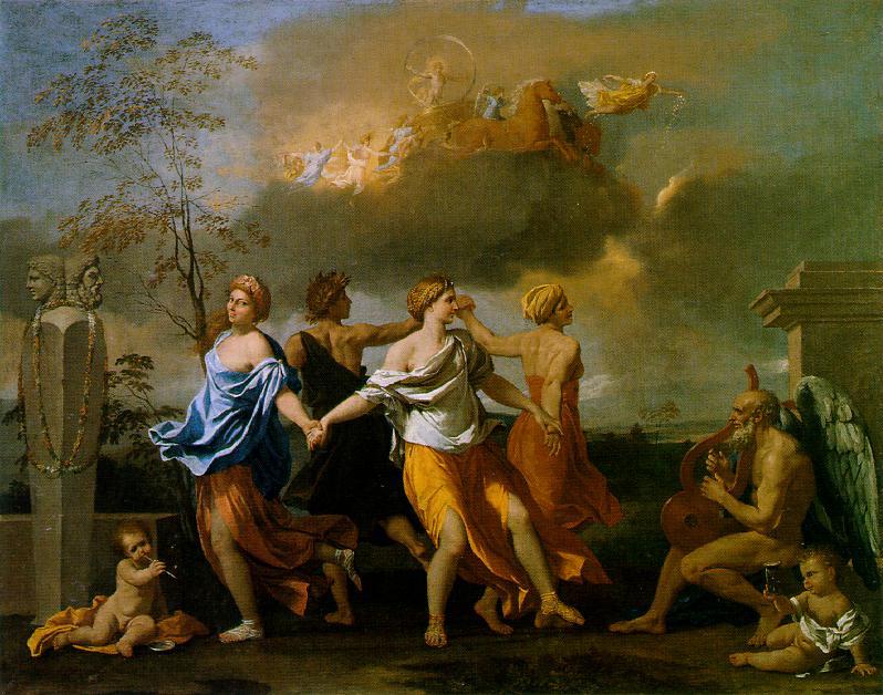 Una danza para la música del tiempo, de Poussin