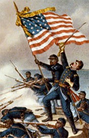 the american civil war as defining moment in american history Far more books have been written about the civil war than about any other event in american history, and lincoln's stack of books towers over that of any other american figure.