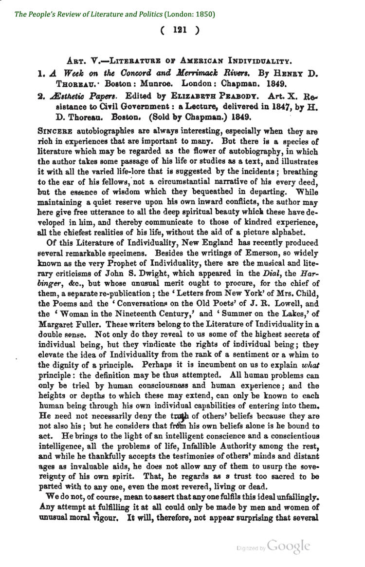 in his essay resistance to civil government American government of the decades before the civil war, which he collected and wrote about in the essay, civil disobedience, which, in fact was originally called resistance to civil government, giving the essay a powerful message that would not only reflect thoreau's own views toward the mexican war, but also give the essay a powerful anti.